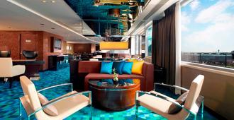 香港天际万豪酒店 - 香港 - 休息厅