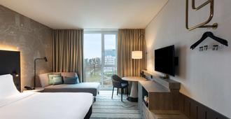 法兰克福机场凯悦酒店 - 法兰克福 - 睡房