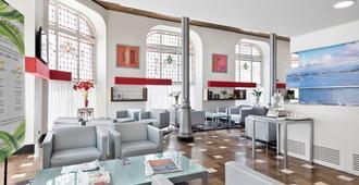 阿巴桑坦德酒店 - 桑坦德 - 大厅