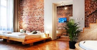 老城公寓酒店 - 克拉科夫 - 睡房