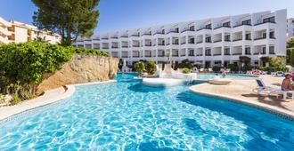 普拉萨玛宁静公寓 - 圣蓬萨 - 游泳池