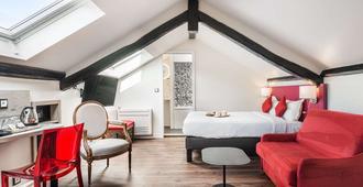 梅代里克酒店 - 巴黎 - 睡房