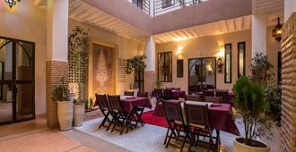 萨玛琳酒店 - 马拉喀什 - 露台