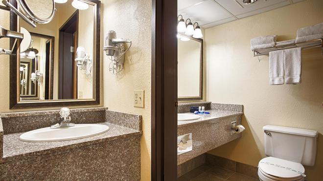 西佳音乐之都旅馆 - 布兰森 - 浴室