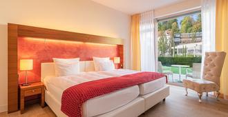 水西城安东特尔蒙酒店 - 巴登-巴登 - 睡房