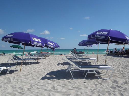博兰南滩酒店 - 迈阿密海滩 - 海滩