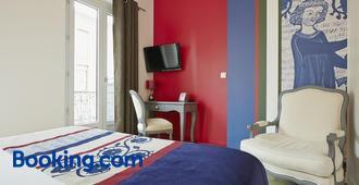 圣塞尔尼酒店 - 图卢兹 - 睡房