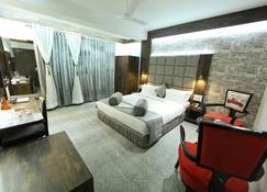 总统酒店 - 那格浦尔 - 睡房