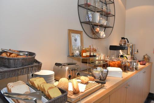 欧洲英格兰德贝斯特韦斯特plus酒店 - 马孔 - 自助餐