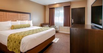 鹰石市贝斯特韦斯特普拉斯酒店 - 洛杉矶 - 睡房
