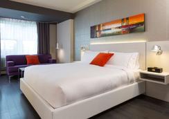 赛皮雅酒店 - 魁北克市 - 睡房