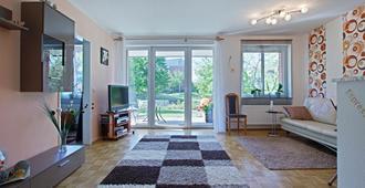 菲布施温尔德私人公寓酒店 - 汉诺威 - 客厅