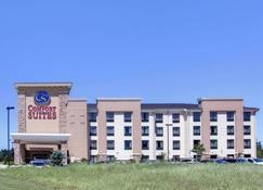 舒适套房酒店 - Texarkana - 建筑