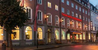 罗森克兰茨卑尔根酒店 - 卑尔根 - 建筑