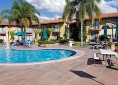 哈深达德拉诺里亚大酒店 - 阿瓜斯卡连特斯 - 游泳池