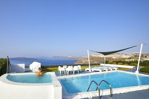 圣托里尼公主总统套房酒店 - 阿克罗蒂里 - 游泳池