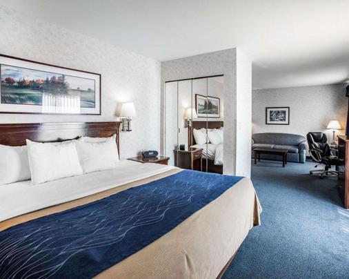 贝林翰舒适酒店 - 贝灵厄姆 - 睡房