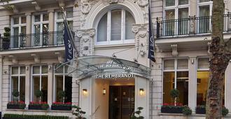伦敦伦勃朗酒店 - 伦敦 - 建筑