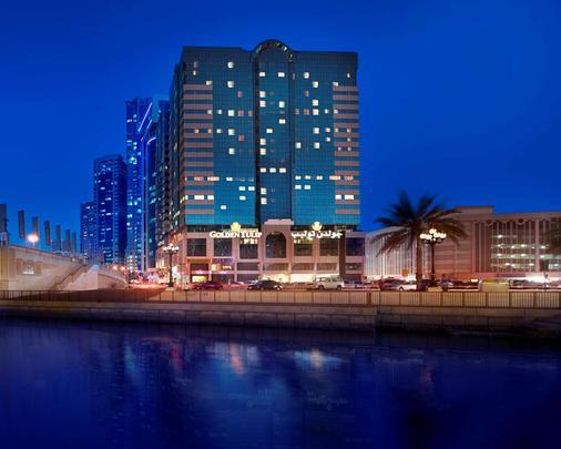 金色郁金香酒店式公寓 - 沙迦 - 建筑