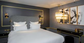拉瓦雷酒店 - 巴黎 - 睡房