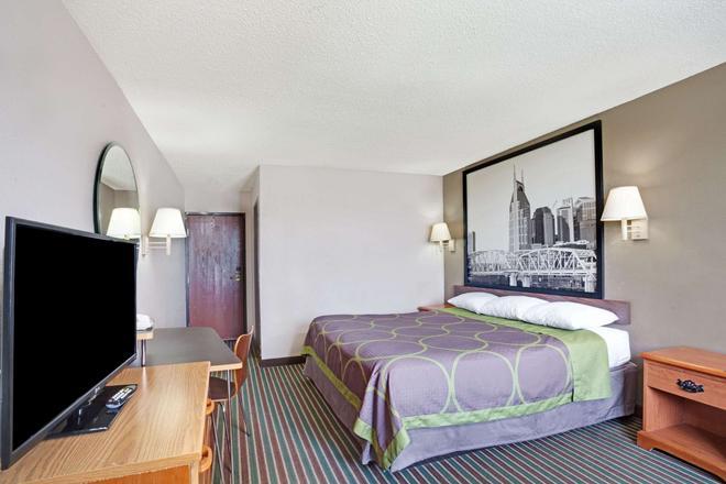 纳什维尔市区-奥普赖乐园地区速8酒店 - 纳什维尔 - 睡房