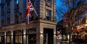 丽笙蓝光爱德华七世时代美世街酒店 - 伦敦 - 建筑