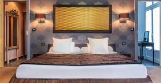 乐豪酒店 - 图尔 - 睡房