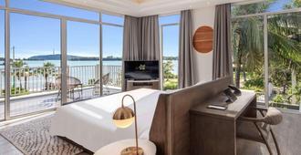 富国岛尊享度假酒店 - Phu Quoc - 睡房