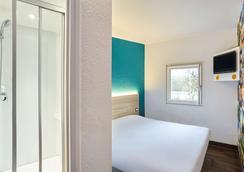 图卢兹艾罗伯特一级方程式酒店 - 布拉尼亚克 - 睡房