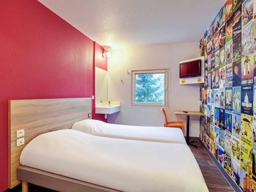 图卢兹机场F1酒店 - 布拉尼亚克 - 睡房