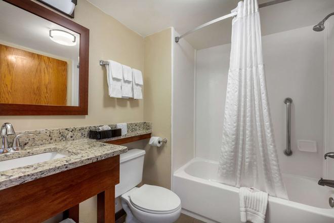 汉密尔顿广场凯富套房酒店 - 查塔努加 - 浴室