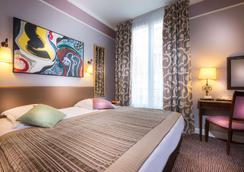 树林香榭丽舍酒店 - 巴黎 - 睡房