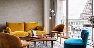 铂尔曼巴黎埃菲尔铁塔酒店 - 巴黎 - 客厅