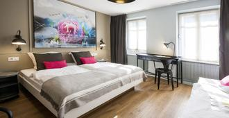 玫瑰酒店 - 斯特拉斯堡 - 睡房