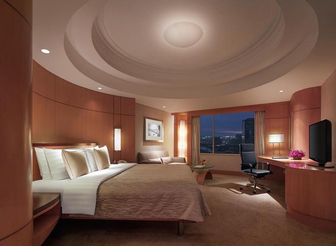 麦卡蒂香格里拉大马尼拉酒店 - 马卡蒂 - 睡房