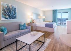 棕榈海滨酒店 - 艾勒夫帕姆斯 - 睡房