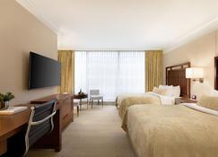 温哥华香格里拉大酒店 - 温哥华 - 睡房