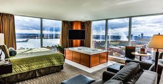 塞内卡尼加拉度假酒店及赌场 - 尼亚加拉瀑布 - 睡房