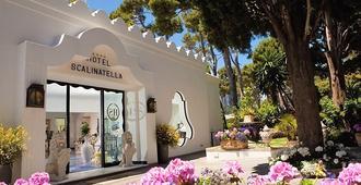 拉斯卡里纳特拉酒店 - 卡普里岛 - 户外景观