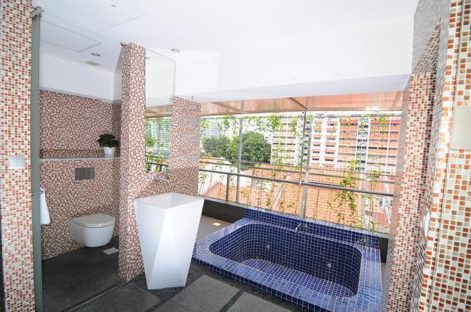 新加坡月亮酒店 - 新加坡 - 浴室