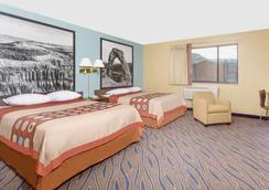 雪松城速8酒店 - 雪松城 - 睡房