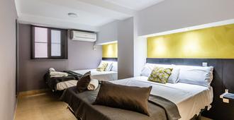 巴塞罗那日月旅馆 - 巴塞罗那 - 睡房