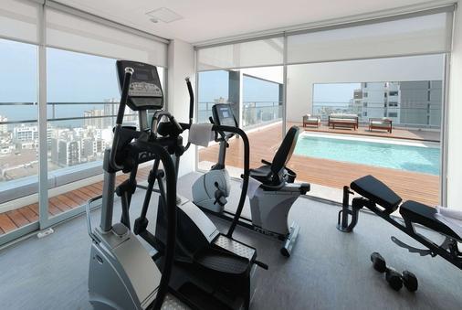 利马达兹勒酒店 - 利马 - 健身房