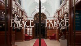 新艺术风格宫殿酒店 - 布拉格 - 酒店入口