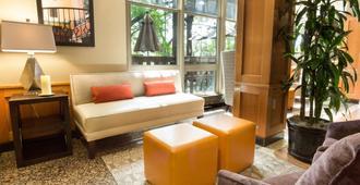 圣安东尼奥北石橡树德鲁酒店 - 圣安东尼奥 - 客厅