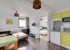 波尔多拉克全套房公寓式酒店 - 会展公园站 - 波尔多 - 睡房