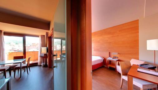 西尔肯纳兰科纪念碑酒店 - 奥维多 - 睡房