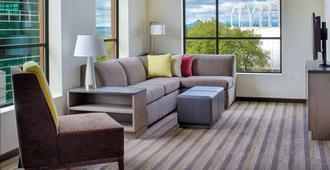 西雅图市中心凯悦嘉寓酒店 - 西雅图 - 客厅