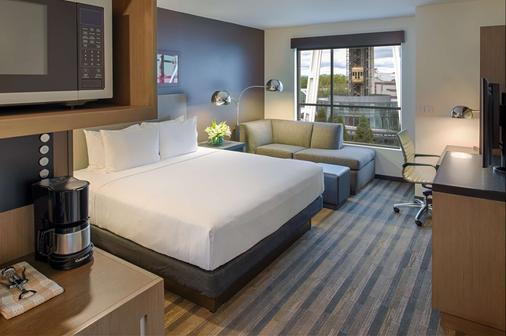 西雅图市中心凯悦嘉寓酒店 - 西雅图 - 睡房