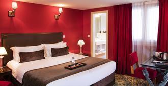 巴黎双大陆酒店 - 巴黎 - 睡房